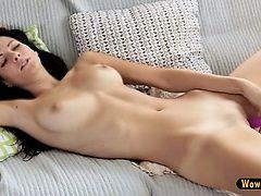 Hot and beautiful Lauren becomes...
