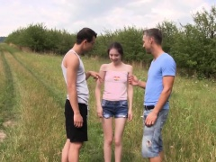 Euro teen cummy mouthed