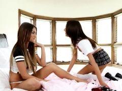 Luxury lesbian teenie models...