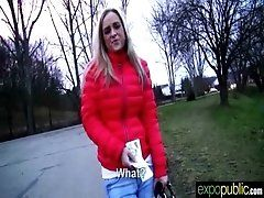 Public Sex Tape With Horny Girl...