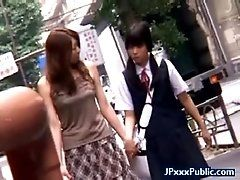Public Sex Japan with Sexy Asian...
