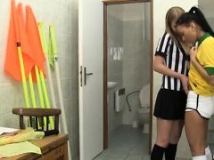 Girl teen girl enema Brazilian...