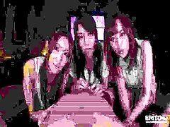 Three luscious Japanese teens...