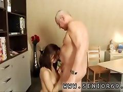 Old hairy mature masturbation...
