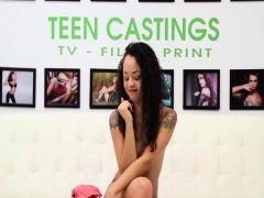 Gorgeous teen Holly Hendrix went...