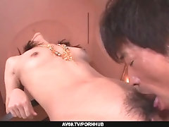 Maika shows her suck and fuck...