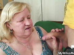 xhamster Slim dude fucks huge granny inlaw