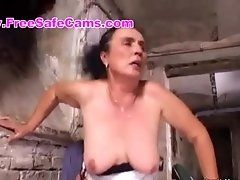 granny does anal 480p