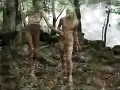 Teens masturbating in the forrest