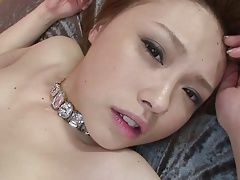 Dirty young whore gets her pussy...