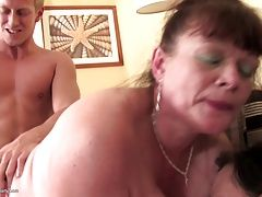 xhamster Real mature moms sharing young...