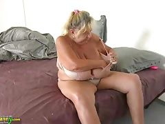 Teen fuck with strapon old busty...