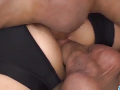 xhamster Sensational gangbang with young...