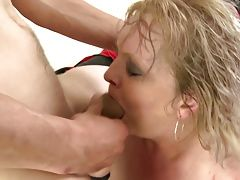 Taboo home story with mature mom...