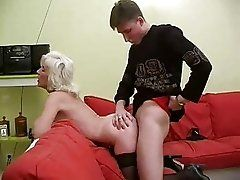 Granny Inga with Saggy Tits Gets...