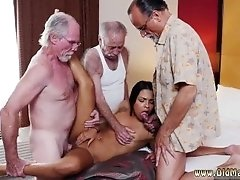 Secretary seduces old boss first...