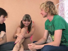 Stud assists with hymen physical...