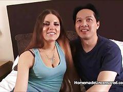 POV Fun loving couple having sex...
