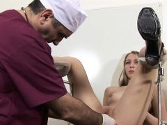 Blonde Chick Has Her Pussy...