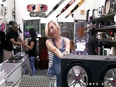 Pawn shop pays teen cutie for...