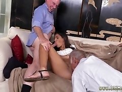 Old man and young lady fuck...