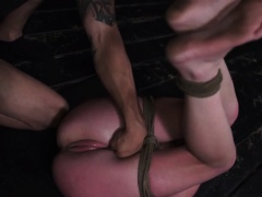 Teen pussy punished hard and...